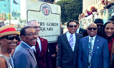 Berry Gordy Jr. - unveiling of Berry Gordy Square (office of Mitch O'Farrell)