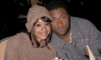 "Lisa ""Left Eye"" Lopes and Andre Rison"