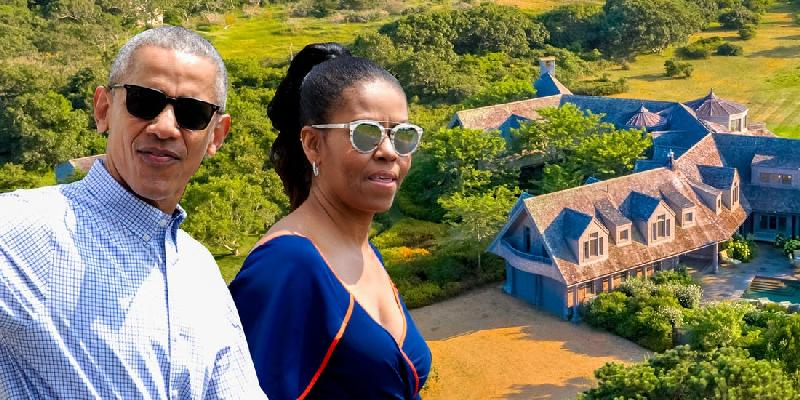 Twitter Reacts Negatively to the Obamas Closing on $11.75M Martha's Vineyard Estate