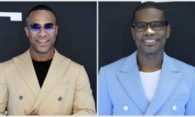 DeVon Franklin and Kirk Franklin