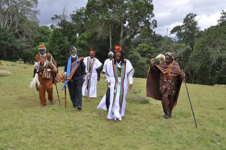 Mt Kenya - Saint Michael & others