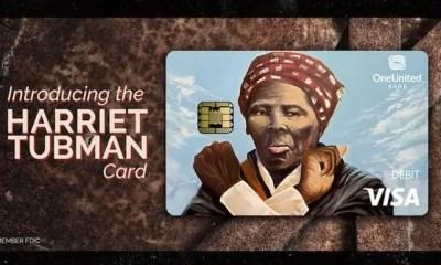 OneUnited Harriet Tubman debit card