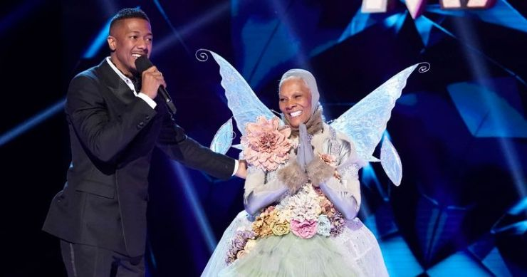 NIck Cannon and Dionne Warwick