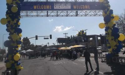 Destination Crenshaw Entrance