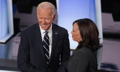 Joe Biden & Kamala Harris (getty)