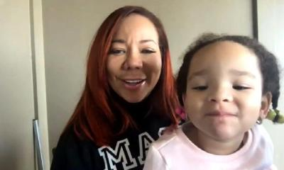 Tiny Harris & baby girl (the real at home)
