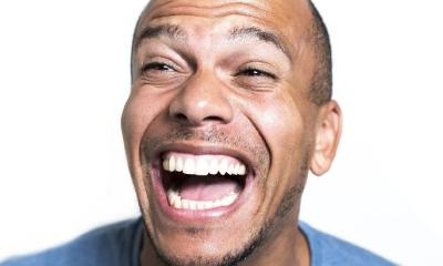 man laughing - (google free to share and use)
