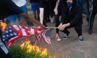 Flag burning - May-30-DC-protest-for-George-Floyd-15-1024x683-1