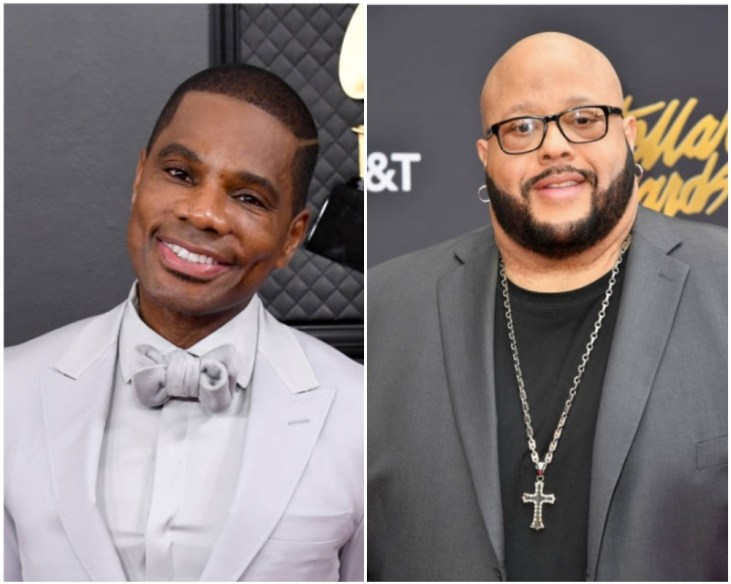Kirk Frank, Fred hammond (Getty Images)