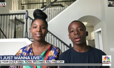 "Keedron Bryant and his mom Johnetta on ""Today"" (June 1, 2020)"