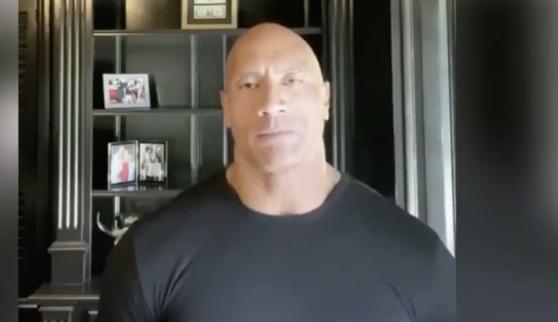 Dwayne Johnson Calls Out Donald Trump