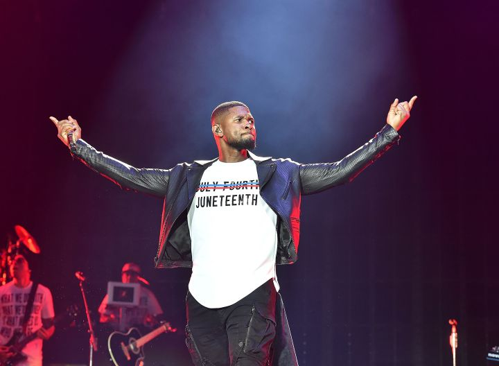 Usher - Juneteenth (Getty)