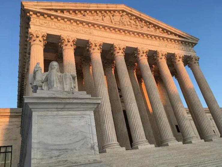 2020 US Supreme Court Building Exterior