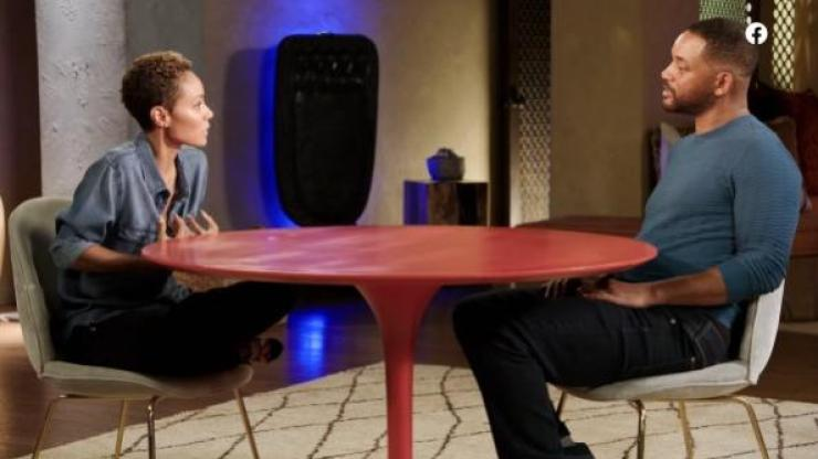 Jada & Will (red table screenshot)