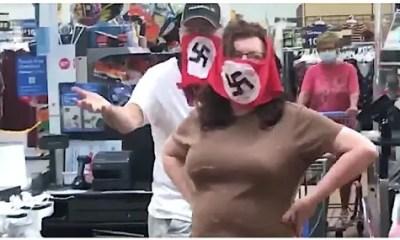 Nazi-Facemask