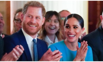 Prince Harry and wife Meghan