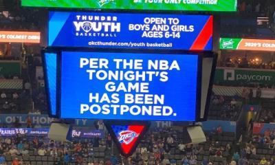 NBA Games postponed