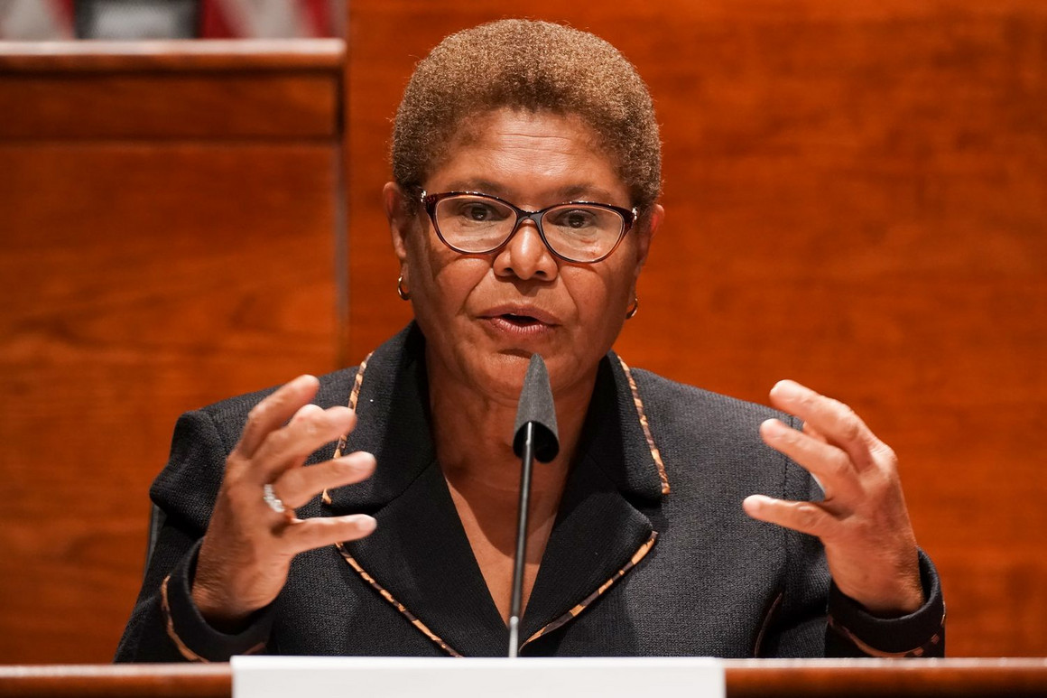 Why 300-Plus DNC Delegates & Members Want Biden to Pick Rep. Karen Bass for VP (Video)