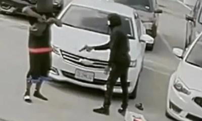 Houston Masked gumnan shoots other man - IG screenshot