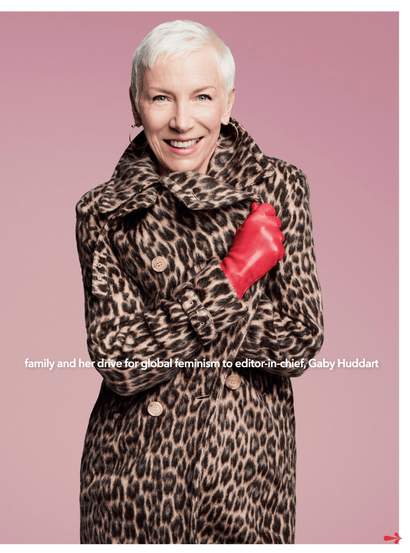 Ultimate Eurythmics Archives Annie Lennox Good Housekeeping Magazine 01032019