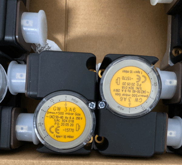 DUNGS Pressure switch GW3A6