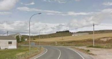 Fallece un conductor tras salirse de la calzada su vehículo y colisionar con una valla en la N-1 en Andoain,