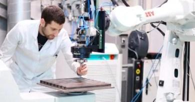 La fabricación aditiva por hilo supone una apuesta para la industria aeronáutica y la nergía,