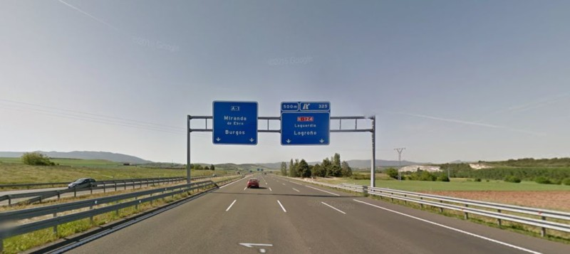 La  Diputación  Foral de Álava empezará  antes  del  verano  las obras de mejora de la carretera A-126 a la altura de Bernedo,