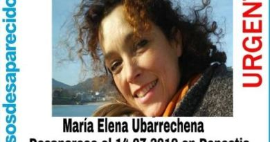 Alertan sobre la desaparición de una donostiarra de 52 años,