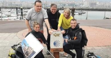 Ihobe se suma al 'Camino de Santiagua', la iniciativa para crear una ruta jacobea subacuática,