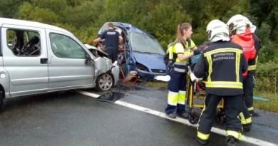 Cuatro personas heridas tras dos siniestros en Pasaia y Urnieta.,