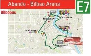 Bilbobus ofrecerá este sábado el servicio  de lanzadera para el partido  Bilbao Basket – Gran Canaria,