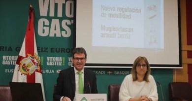Vitoria-Gasteiz regulará la presencia de los patinetes y trasladará la circulación ciclista a la calzada,