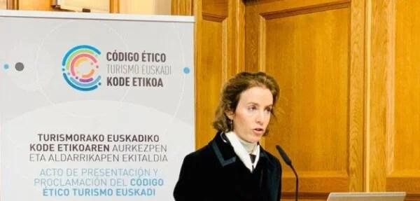Presentan la proclamación del Código Ético del Turismo en Euskadi,