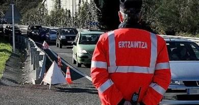 Doce conductores detenidos o en calidad de investigados durante el fin de semana por un delito contra la seguridad vial en las carreteras vascas,