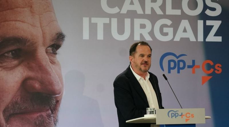 """Iturgaiz acusa a los nacionalistas de ser """"la pandemia separatista y golpista que rompe y levanta muros"""","""