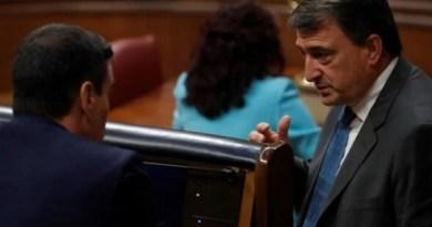 """Esteban exige """"ya"""" la transferencia a Euskadi del Ingreso Mínimo Vital porque el Gobierno Sánchez """"va tarde"""","""