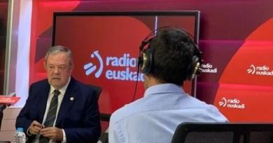 """Pedro Azpiazu: """"Previsiblemente la reunión de la Comisión Mixta del Concierto Económico se celebrará el próximo 30 de septiembre"""","""