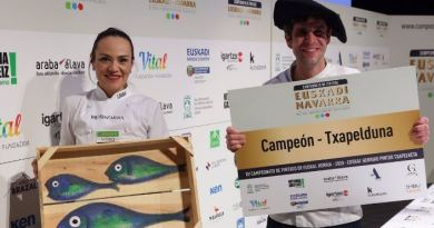 Un histórico de Iruña campeón de Euskadi y Navarra en el XV Campeonato de pintxos,