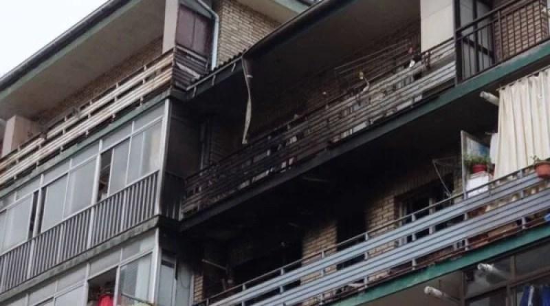 Fallece una mujer y seis personas resultan heridas por un incendio en una vivienda de San Sebastián,
