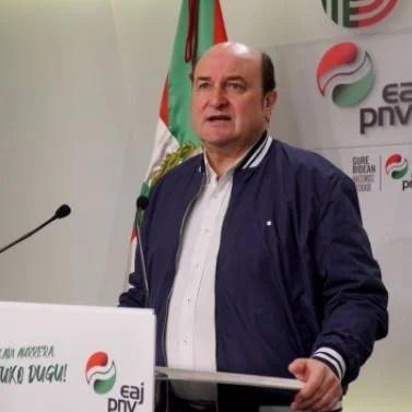 """El PNV cree que """"a partir del 5 de mayo hay tiempo para una solución puente que dé seguridad"""" a las comunidades,"""