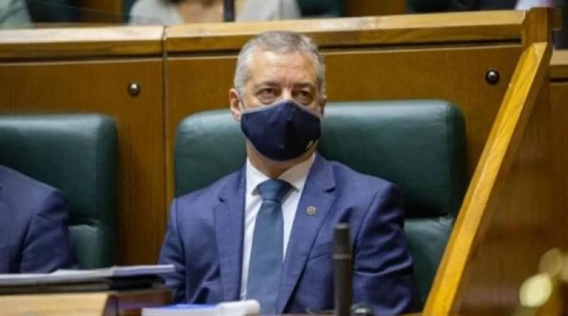 Urkullu pide a Sánchez por carta que obligue a usar mascarilla y dote de medidas para limitar movilidad nocturna,
