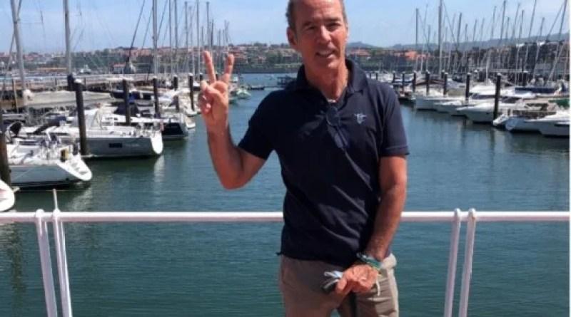 Jaime Lafita parte hacia Bruselas en velero para visibilizar la ELA,