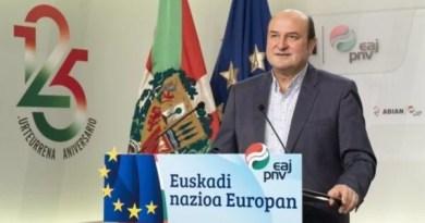 El PNV reclama al Estado el reconocimiento de Euskadi y Cataluña como naciones,