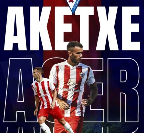 Ager Aketxe, otro refuerzo para el Eibar de Garitano,