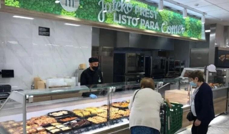 Mercadona inaugura su nuevo modelo de tienda eficiente en Alameda Urquijo en Bilbao,