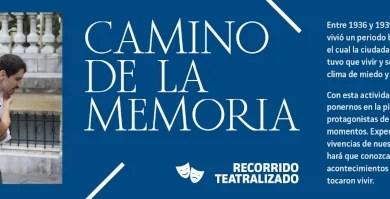 Abierto el plazo de inscripción para las visitas teatralizadas 'Camino de la memoria» en Donostia,