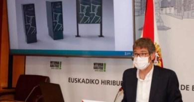 Vitoria-Gasteiz contará con un sistema logístico de buzones inteligentes que facilitarán el reparto de paquetes en bici,