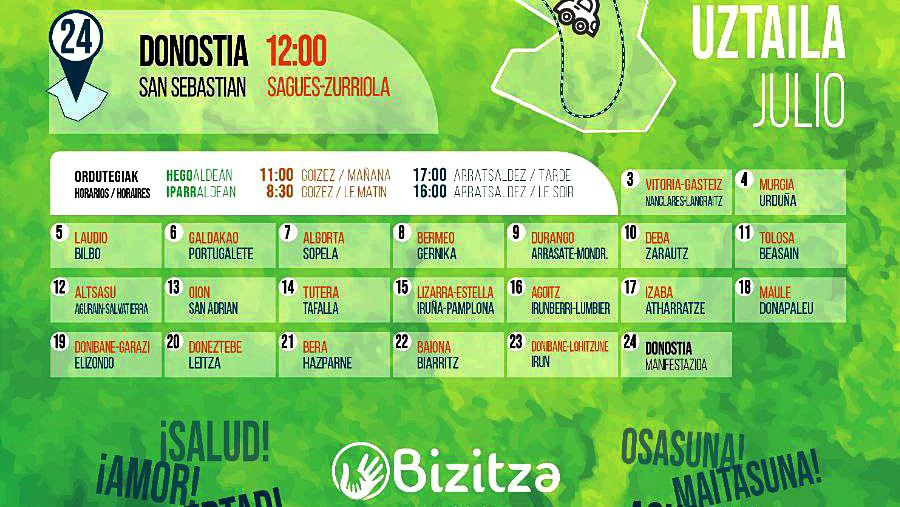 Calendario y mapa de Plazaz Plaza, el proyecto en defensa de los derechos y  libertades más ambicioso hasta la fecha |