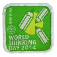 Emblema Dia Mundial do Pensamento